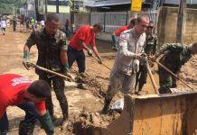 Forças Armadas socorrem vítimas das chuvas em Minas e no Espírito Santo