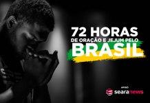 72 horas de jejum, oração e clamor pelo Brasil e pelo mundo