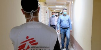 Médicos Sem Fronteira (MSF) apoia hospitais iraquianos no combate à COVID-19