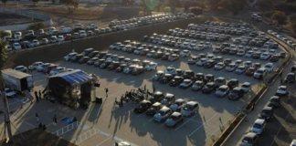 Culto Drive-In reúne mais de mil pessoas no interior de SP