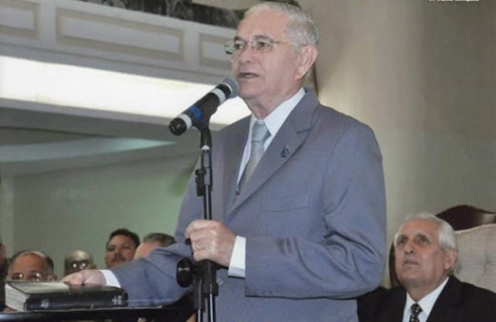 Morre pastor Pedro Cavalcante Falcão, vice-presidente da Assembleia de Deus em Fortaleza
