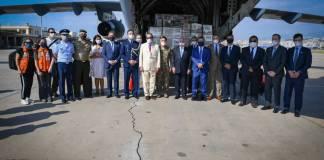 Missão humanitária brasileira chega a Beirute, capital do Líbano