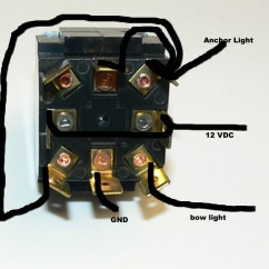 Led Boat Light Wiring Diagram Hifonics Hfi12d4 For Lights On A Best Library Anchor