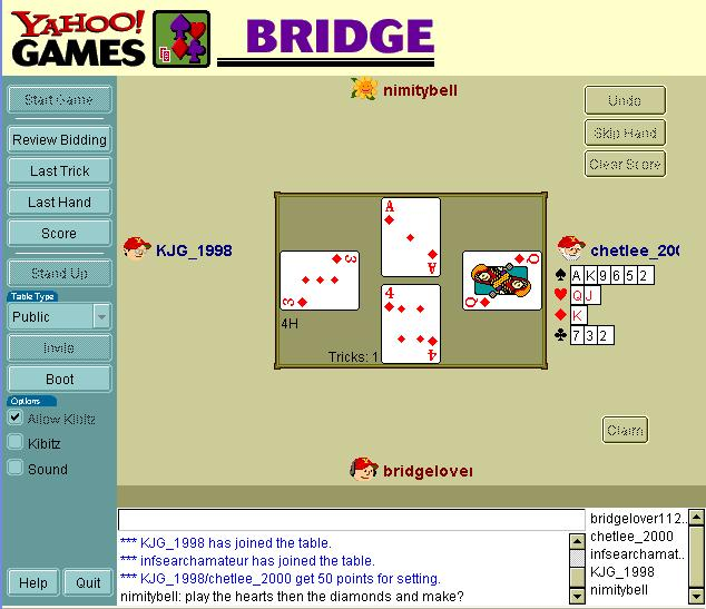 how to play call bridge card game