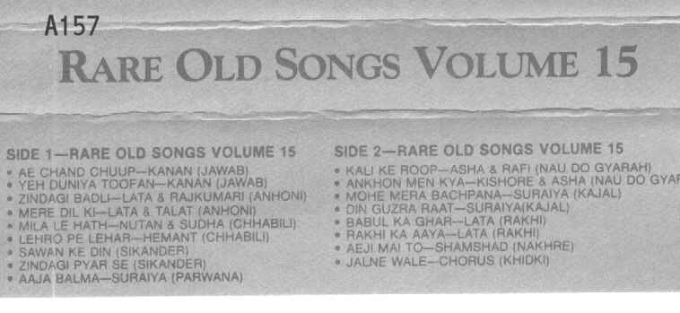 OLD INDIAN SONGS PAGE 9