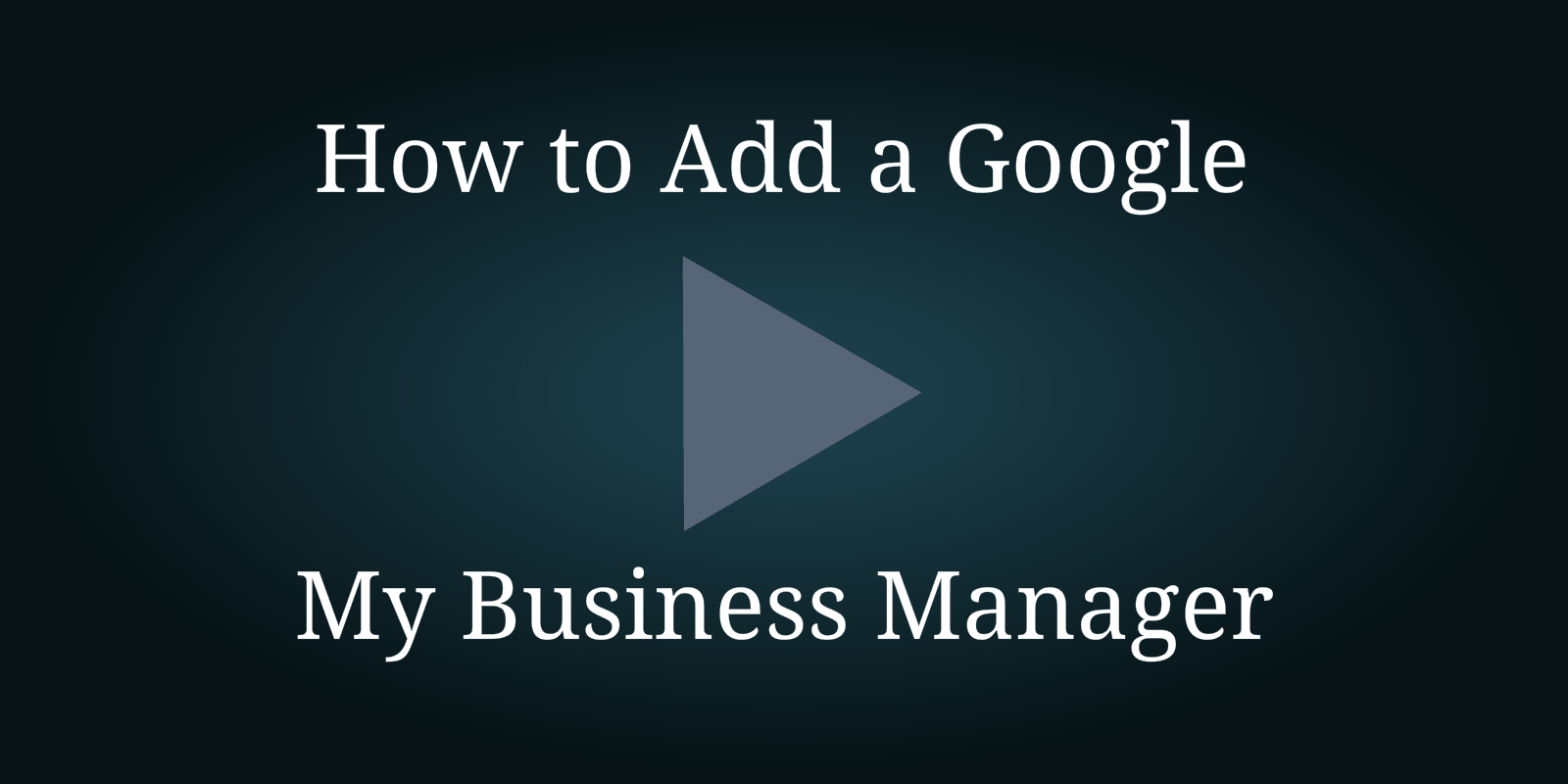 How To Add A Manager To My Business