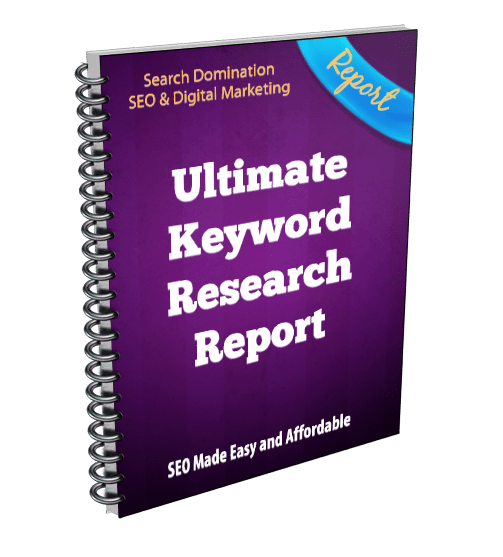Ultimate Keyword Research Report for SEO