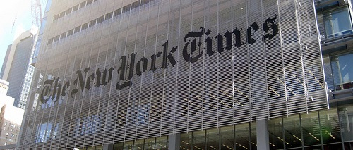 NYC New York Times Building by wallyg