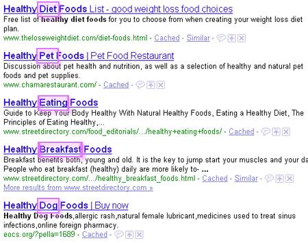 Google keyword research: wildcard