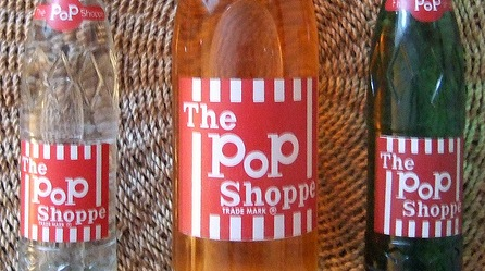 POP SHOPPE BOTTLES FULL WITH ORIGINAL SODA 1970's by woody1778a