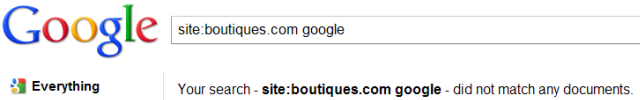 Google Boutiques branding
