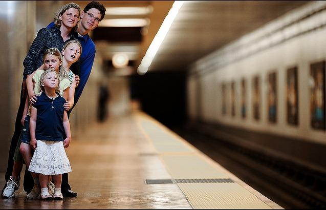 family subway station