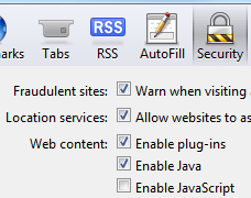 How to temporarily disable javascript in your browser how to disable javascript in opera ccuart Gallery