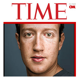 Zuckerberg on Time Magazine