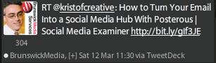 RT kristofcreative: How to Turn Your Email Into a Social Media Hub With Posterous Social Media Examiner