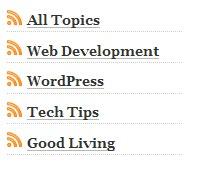Category Specific RSS Feed   WordPress Plugin
