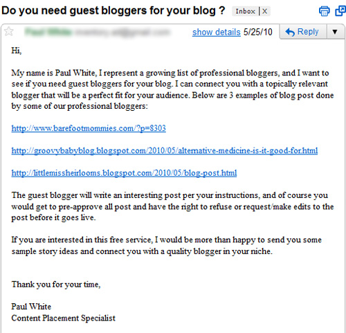 5 Fast, Easy Ways To Make Sure Your Guest Post Is Rejected