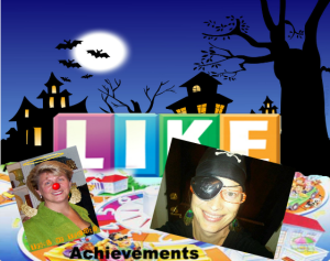 Keri Jaehnig of Idea Girl Media collaborated on a digital costume party for Pre-Holiday Facebook: Game Of Like