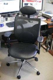 An office chair sits at the heart of any business