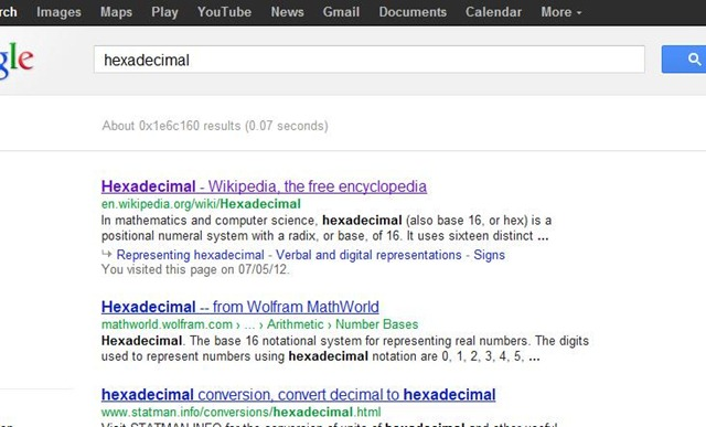 14. Hexadecimal