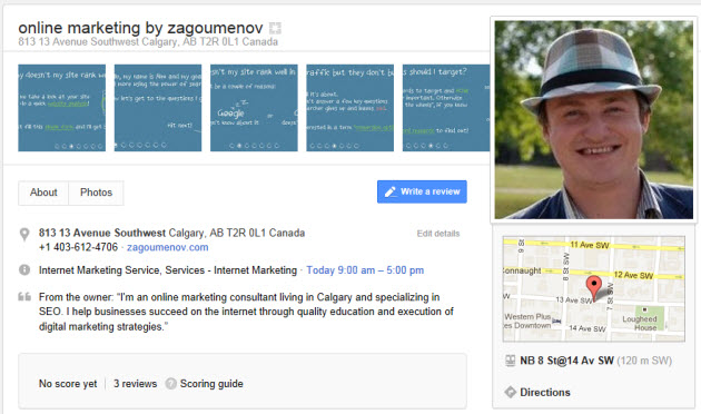 Sorting a confusion and improving your Google+ Local listing