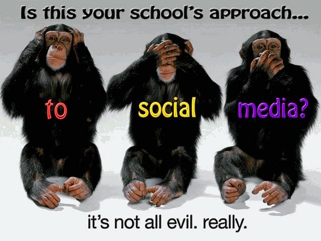 school-social-media