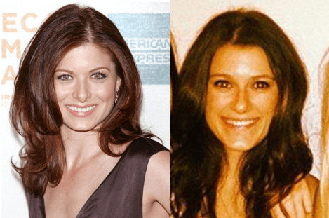 Brittney and Debra Messing