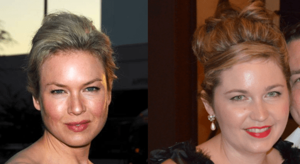 Nicole and Renee Zellweger