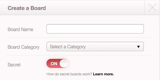Secret Boards in Content Marketing