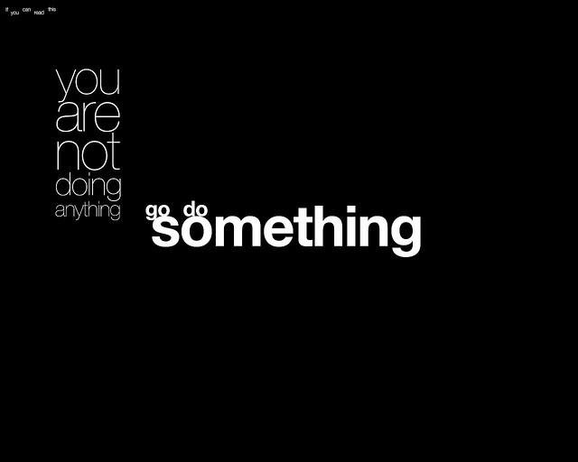start to do something