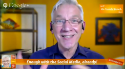 Keri Jaehnig showcases Ray Hiltz's #GPlusLunchBunch Google+ Hangout On Air For Search Engine People and it's audience