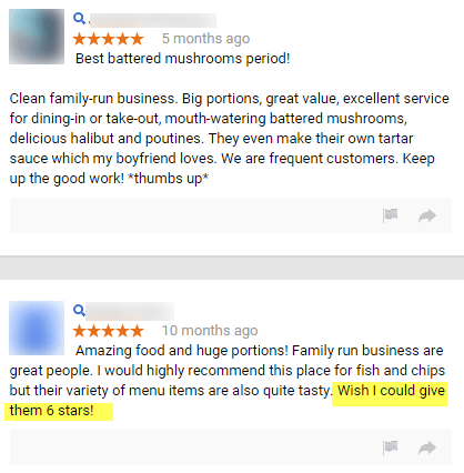 Good Reviews Make All the Difference