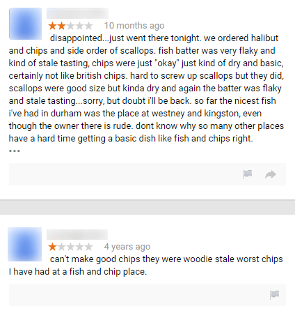 A Local Fish N Chip Restaurant