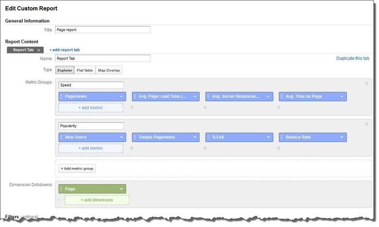 How To Get Data For A Specific List Of URLs In Google Analytics