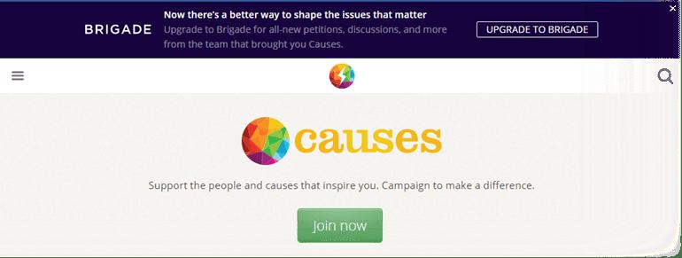Facebook Causes
