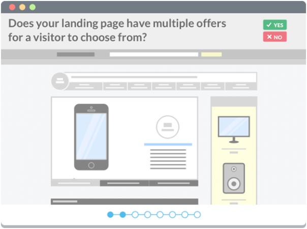 landing page segmentation