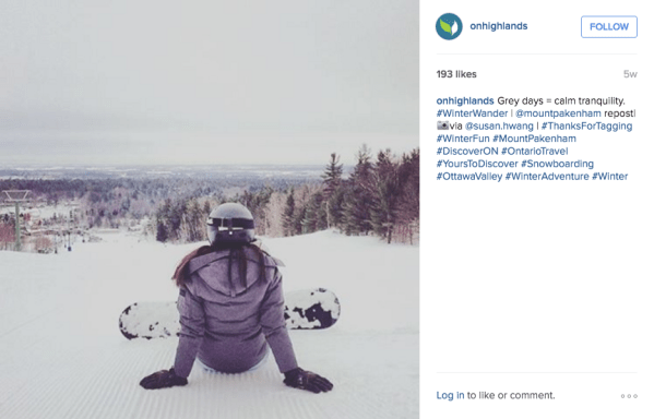 instagram marketing case study