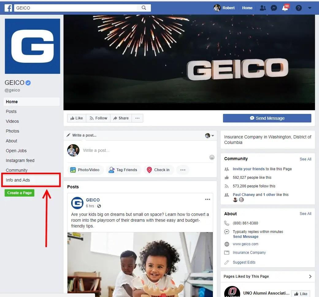 Geico-FB-Page