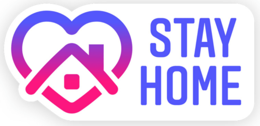 """Instagram's """"Stay home"""" for COVID-19 awareness"""