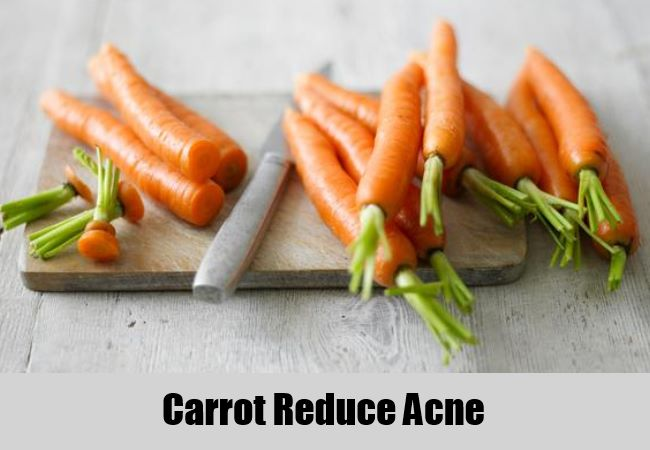 Carrot Reduce Acne