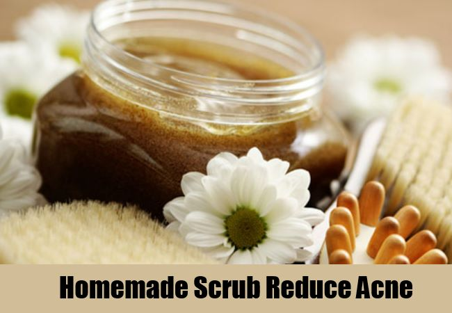 Homemade Scrub Reduce Acne