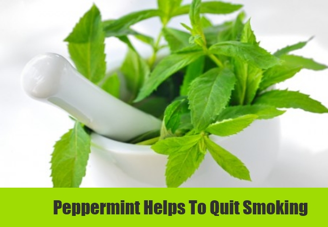 Peppermint Helps To Quit Smoking