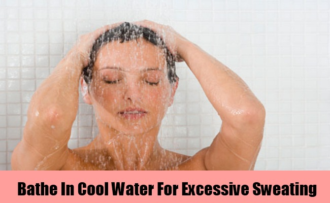 Bathe In Cool Water