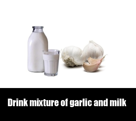 garlic and milk