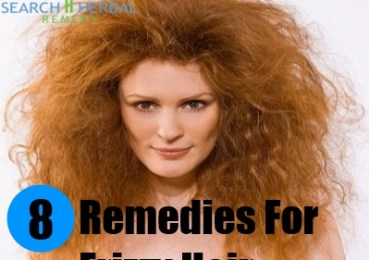 8 Remedies For Frizzy Hair