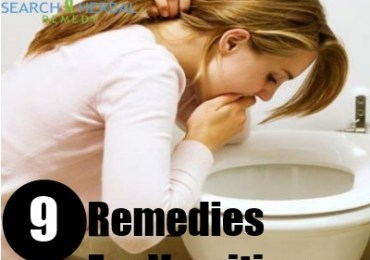 9 Remedies For Vomiting