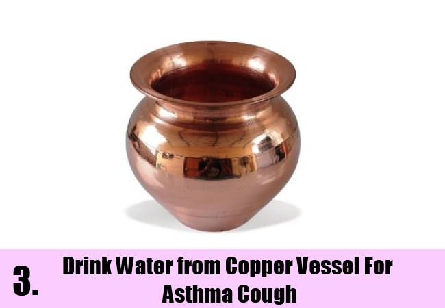 Drink Water from the Copper Vessel