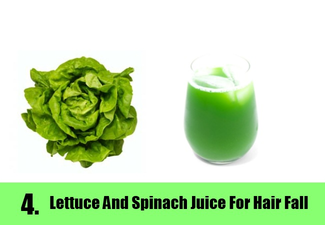 Lettuce and Spinach Juice