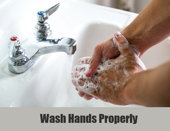 Wash Hands Properly