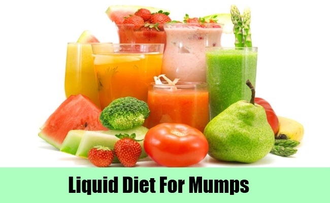 Take Liquid Diet